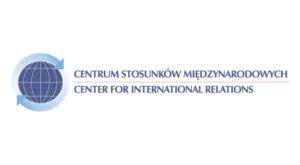 Logo Centrum Stosunków Międzynarodowych