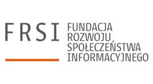 Logo Fundacja Rozwoju Społeczeństwa Informacyjnego