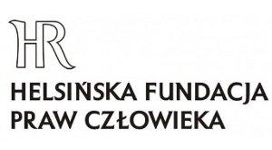 Logo Helsińska Fundacja Praw Człowieka (organizacja wspierająca)