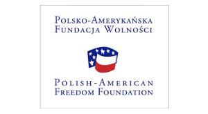 Logo Przedstawicielstwo w Polsce Polsko-Amerykańskiej Fundacji Wolności (organizacja wspierająca)