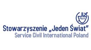 """Logo Stowarzyszenie """"Jeden Świat"""""""