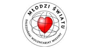 Logo Salezjański Wolontariat Misyjny - MŁODZI ŚWIATU